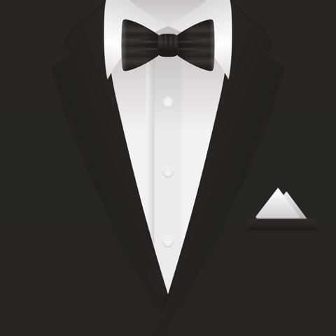 Tuxedo 12x12 Scrapbooking Paper