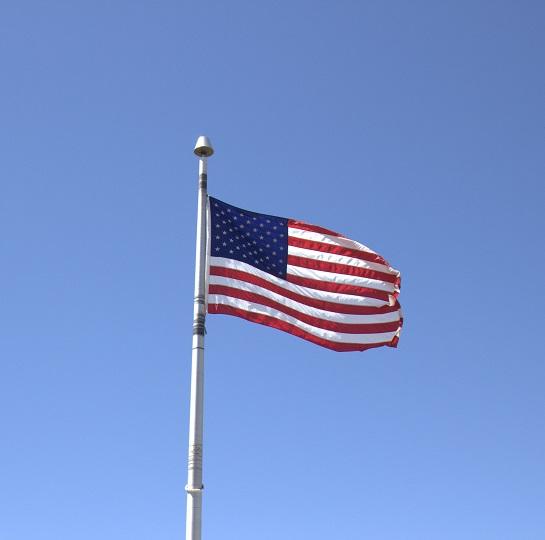 BULK BUY USA Flag 12x12 Scrapbooking Paper - 25 Sheets