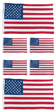 United States Flag Scrapbooking Mini Stickers