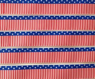USA Stars and Stripes Scrapbooking Ribbon