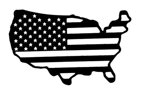USA Map Intricate Scrapbooking Laser Cut