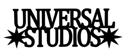Universal Studios Scrapbooking Laser Cut Title with Stars