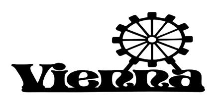Vienna Scrapbooking Laser Cut Title with Big Wheel