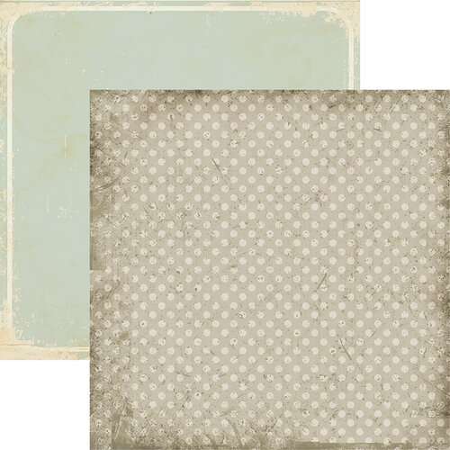 Vintage Dot 12x12 Double Sided Scrapbooking Paper