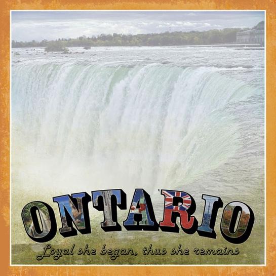 Ontario Vintage 12x12 Scrapbooking Paper