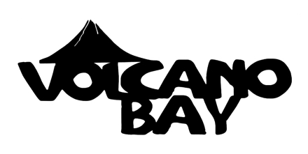 Volcano Bay Scrapbooking Laser Cut Title with Volcano