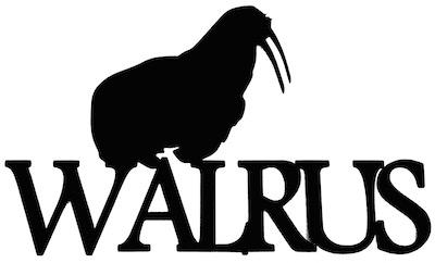 Walrus Scrapbooking Laser Cut Title with Walrus