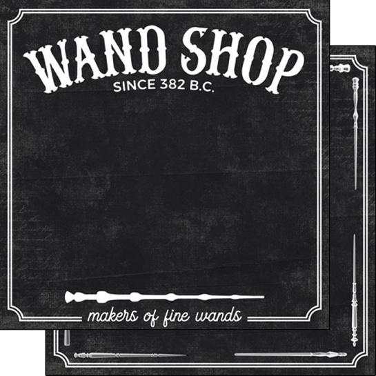 Wand Shop 12x12 Double Sided Scrapbooking Paper