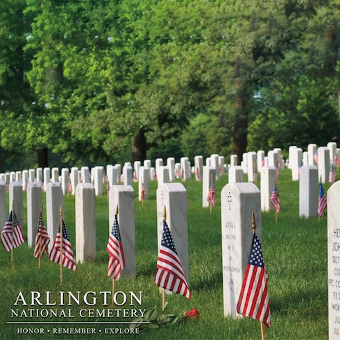 Washington DC Arlington 12x12 Scrapbooking Paper