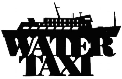Water Taxi Scrapbooking Laser Cut Title with Boat