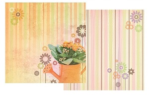 Just Add Water 12x12 Double Sided Scrapbooking Paper