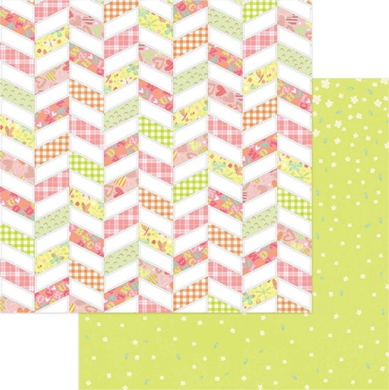 Wee One 12x12 Double Sided Scrapbooking Paper