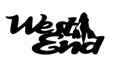 West End Scrapbooking Laser Cut Title with Shopper