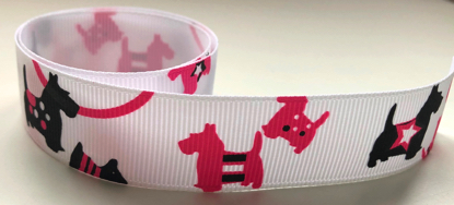 Westie Scrapbooking Ribbon