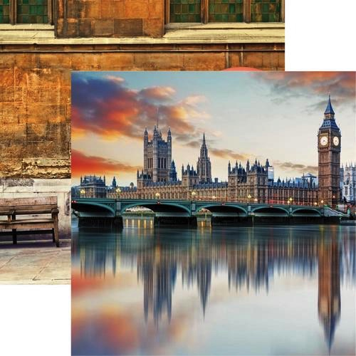 Westminster 12x12 Double Sided Scrapbooking Paper