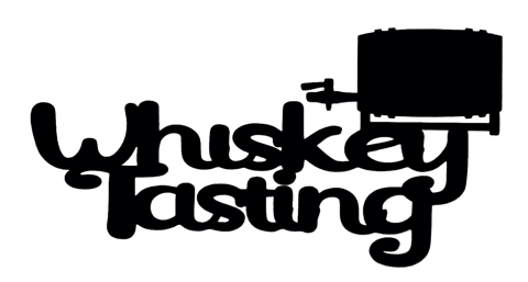 Whiskey Tasting Scrapbooking Laser Cut Title with Barrel