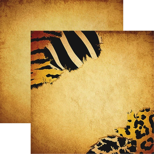 Wild Thing 12x12 Double Sided Scrapbooking Paper