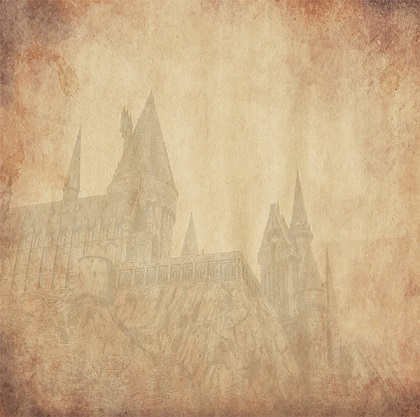 Harry Potter Wizard Castle 12x12 Scrapbooking Paper