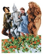The Wizard Of Oz Characters Die Cut Scrapbooking Sticker