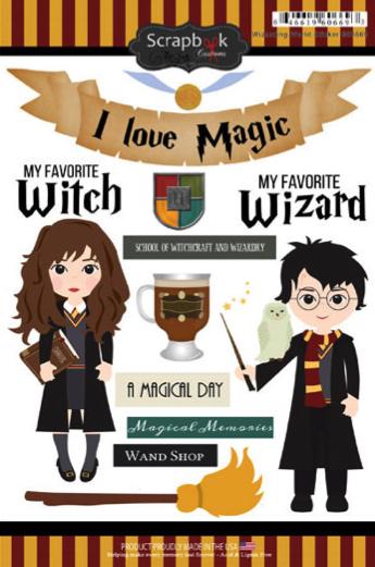 Wizarding World Scrapbooking Stickers