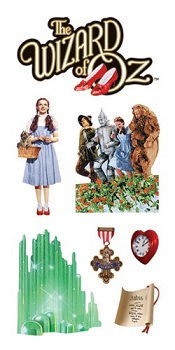 Wizard of Oz Scrapbooking Mini Stickers