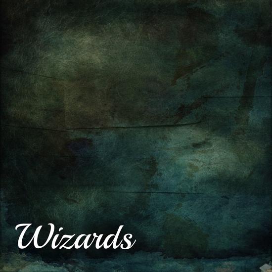 Wizards 12x12 Scrapbooking Paper