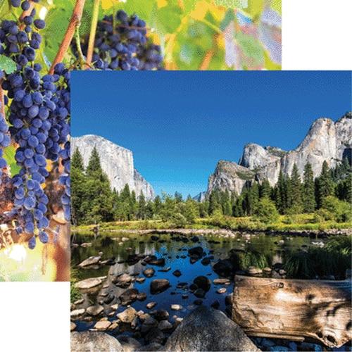 Yosemite Double Sided 12x12 Scrapbooking Paper