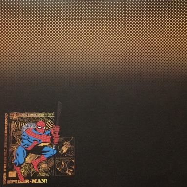 Your Friendly Neighborhood Spiderman 12x12 Scrapbooking Paper