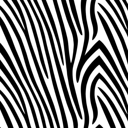 Zebra Print 12x12 Scrapbooking Paper