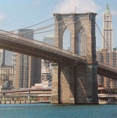 Brooklyn Bridge 12x12 Scrapbooking Paper